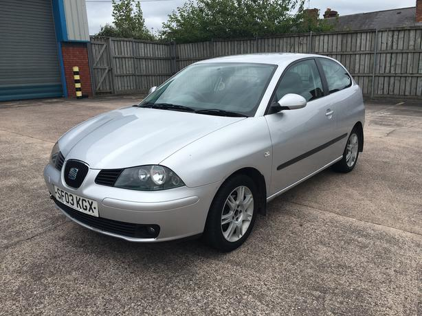 Seat Ibiza 1.4 se, 2003 model long mot very good drive