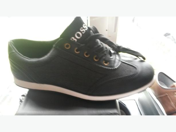 Hugo boss trainers and armani shoe's woman's and mens