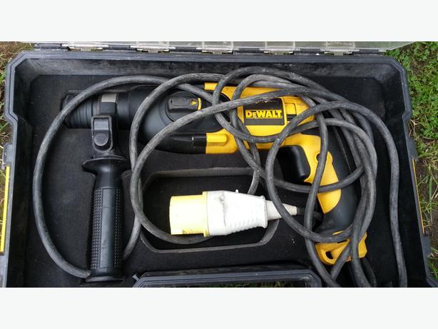 DEWALT D25013K-LX 2.3KG SDS PLUS HAMMER DRILL 110V