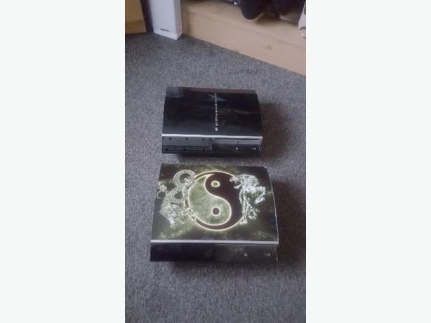 2 ps3 consoles