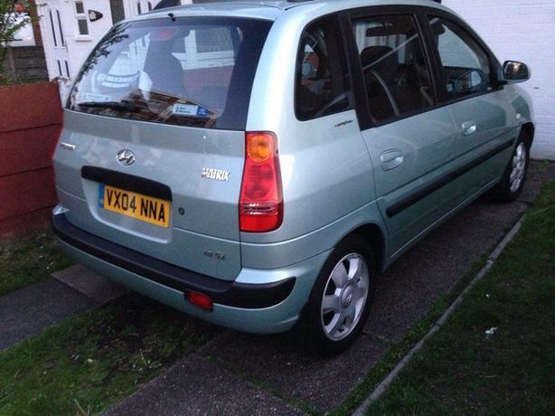 Hyundai matrix 2004 1.6 petrol
