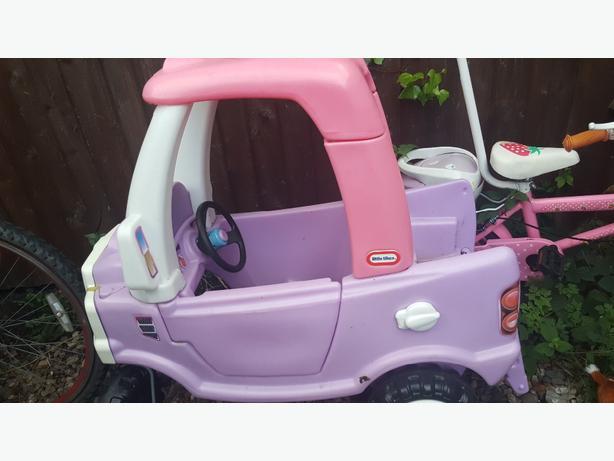 Girls Little Trikes Play Car