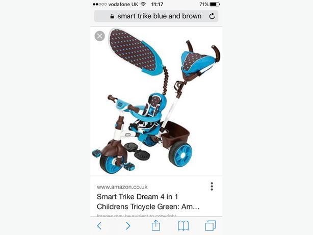smart trike 4in1