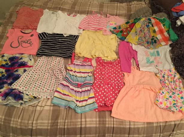 babygirls clothes 18-24 months