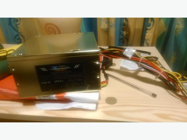 CIT 500w Gold 12CM Silent Atx Power Supply