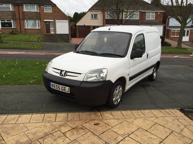 2005 Peugeot Partner Van 1.9D, new gearbox and clutch