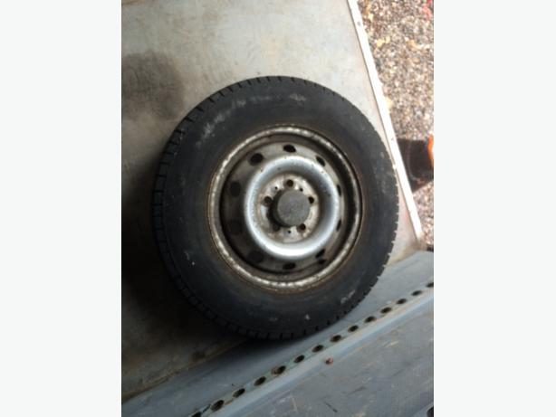 ldv maxus spare wheel