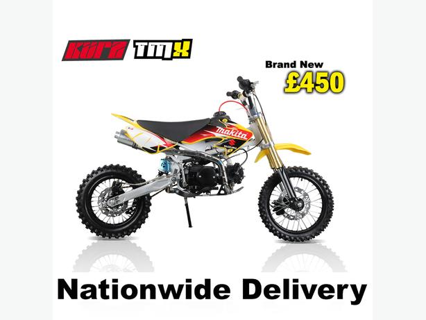 KURZ TMX 125cc Off Road Pit Bike 74cm seat height pitbike, Not Road Legal