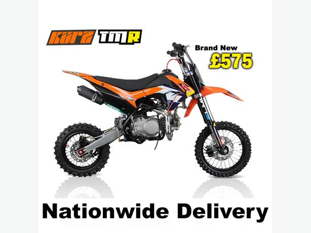 KURZ TMR 140cc Off Road Pit Bike 83cm seat height pitbike, Not Road Legal
