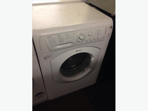 6KG HOTPOINT WASHING MACHINE089
