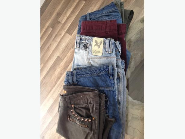 bundle of ladies jeans