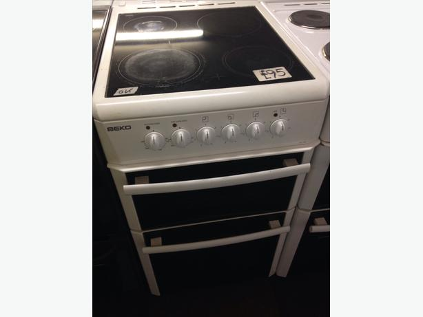 BEKO ELECTRIC COOKER 50CM DOUBLE OVEN04