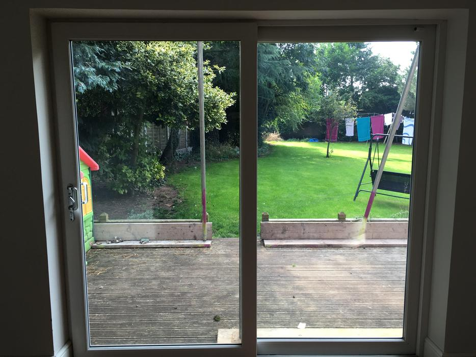 Upvc window patio door internal doors wolverhampton for Used patio doors
