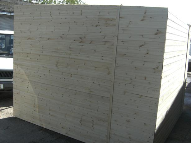 Scrap fencing panels accepted