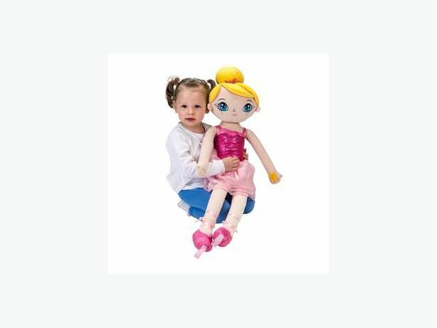 ballerina dancing rag doll