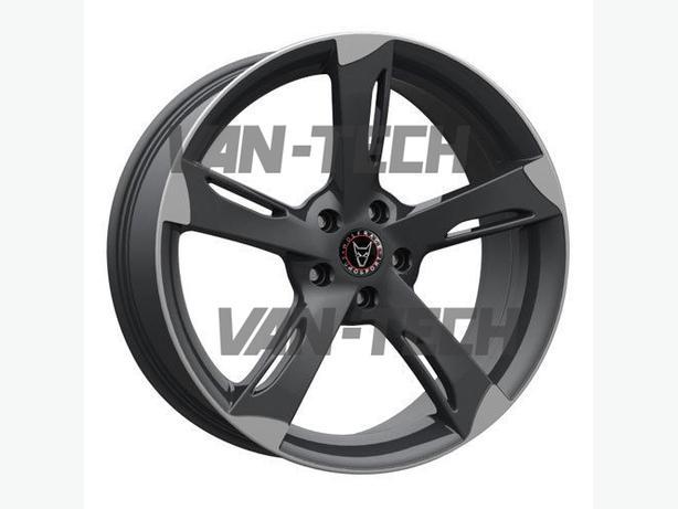 Wolfrace Genesis 20″ Gun Metal Alloy Wheels  + new tyres for VW T5 Van