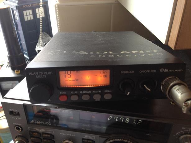 cb radio midland alan 78 plus multi 80 channel