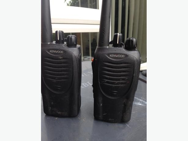 kenwood walkie talkies
