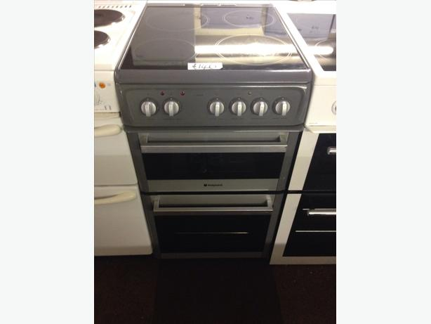 HOTPOINT ELECTRIC COOKER GREY