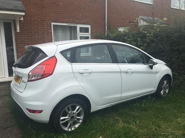ford fiesta zet 2016 1.2 damaged repaired