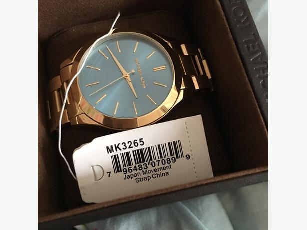 genuine michel kors watch