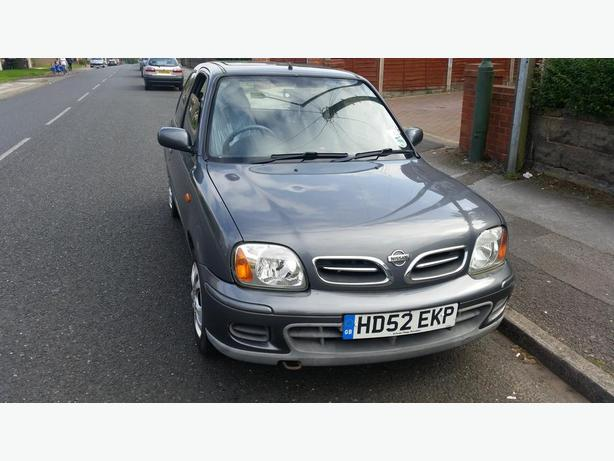 2002 NISSAN MICRA 1.0 MOT MAY LOOKS AND DRIVES GOOD £400 NO OFFERS