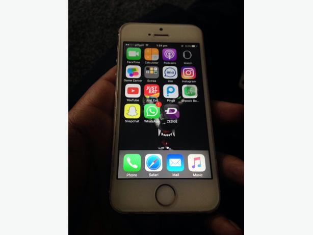 ! IPHONE 5S 16GB UNLOCKED GOLD !