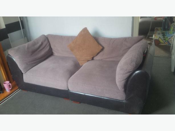 chunky sofa/mini corner sofa