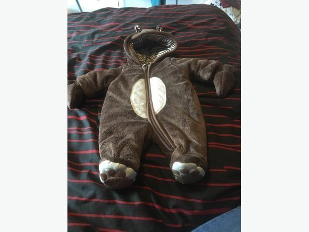 baby bear snowsuit