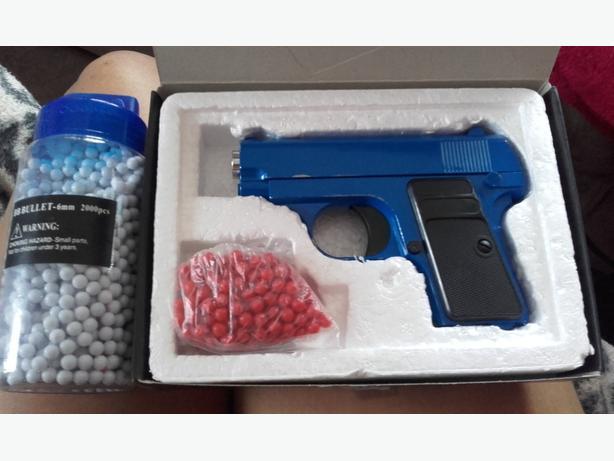 metal bb gun open to offeres