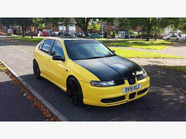 2002 51 seat leon cupra 1 8 20v turbo runs and drives mint sell today walsall sandwell. Black Bedroom Furniture Sets. Home Design Ideas
