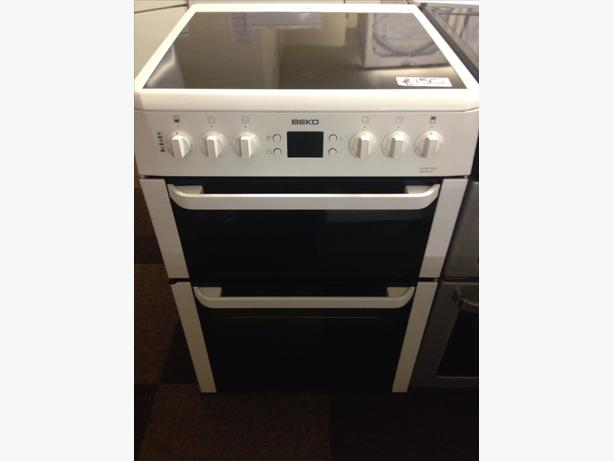 BEKO DOUBLE OVEN ELECTRIC COOKER1