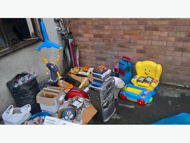 joblot car boot items