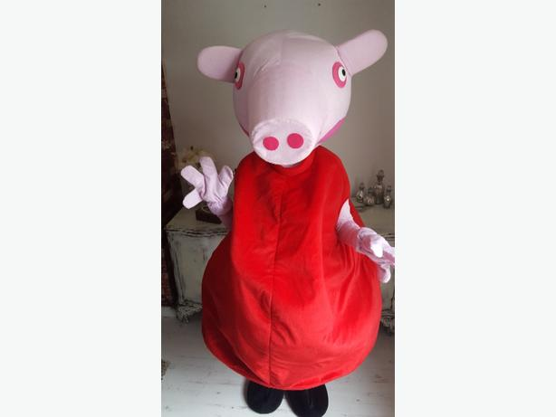 pepper pig mascot for sale