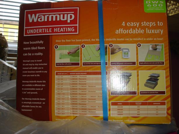 Under Floor Heating pack