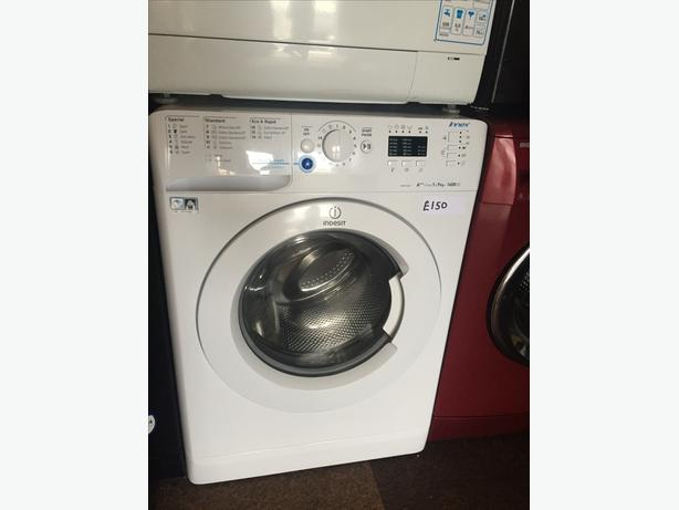 9KG INDESIT WASHING MACHINE WITH 1600 SPIN WITH GUARANTEE