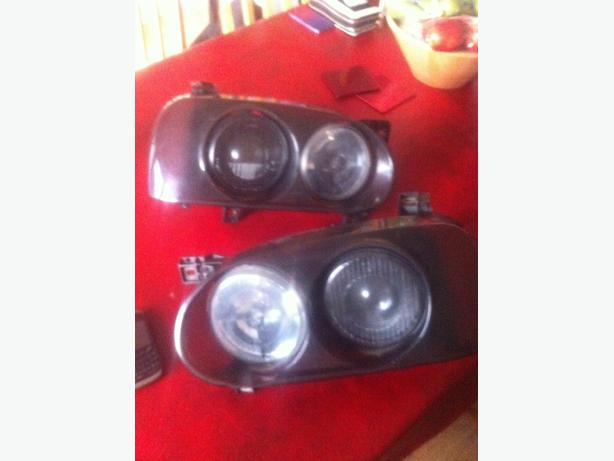 twin head lights
