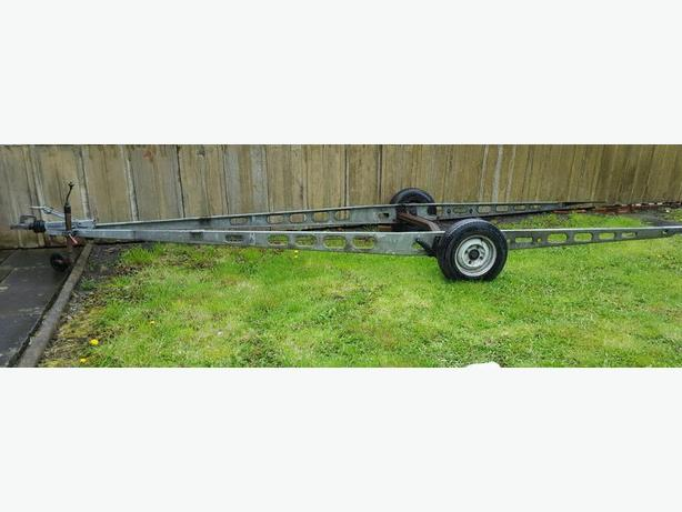 WANTED WANTED GALVERNISED CARAVAN CHASSIS