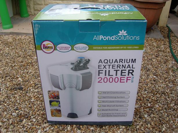 aquarium external filter