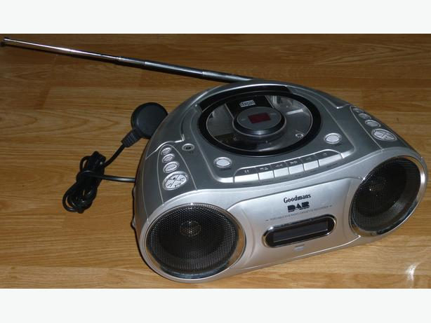 Goodmans Digital DAB/FM/CD/Cassette Boombox
