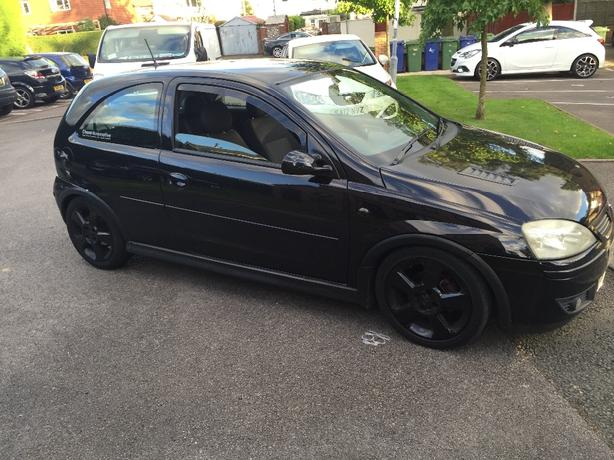 vauxhall corsa modified