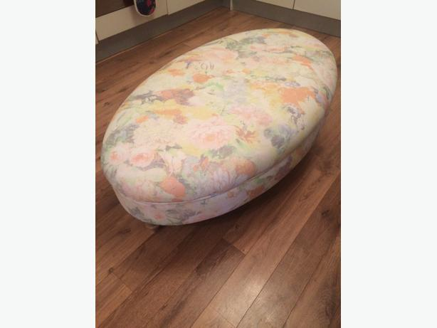 DFS Footstool and matching Cushions