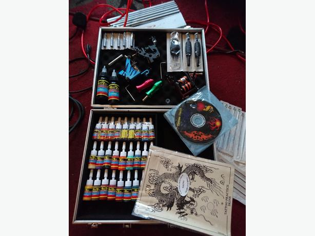 tattoo kit with loads of stuff all brand new