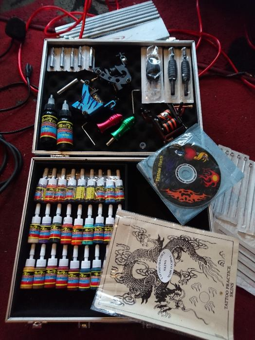 Tattoo kit with loads of stuff all brand new wolverhampton for Cheap tattoo kits amazon