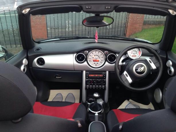Mini One Convertible   12months MOT. Bargain!