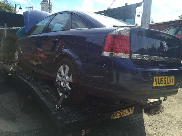 VAUXHALL VECTRA C 1.9 DIESEL BREAKING ALL PARTS ENGINE GEARBOX 55 PLATE