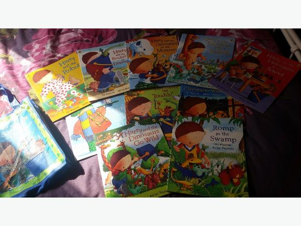 harry and the dinosaurs book collection