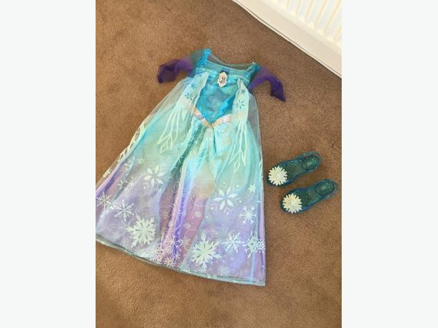 girls disney fancy dress x4 mint condition