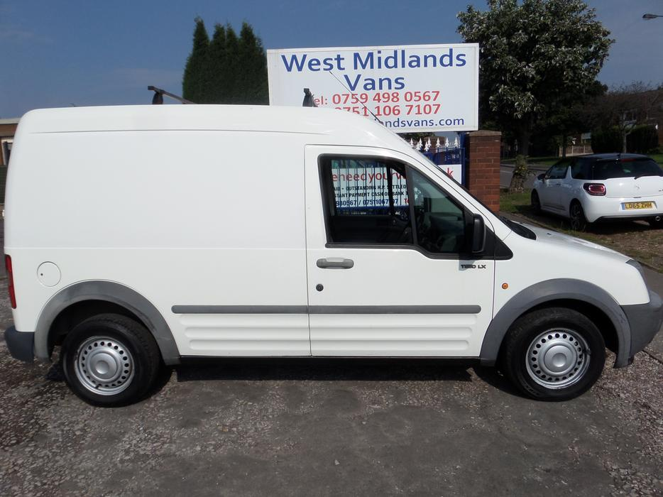 2004 Ford Transit Connect Lx Tdci Lwb High Roof 1 8