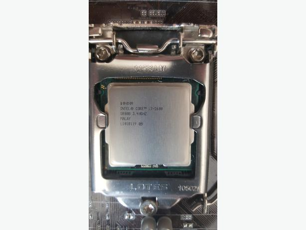 Intel i7 2600k with liquid cooler